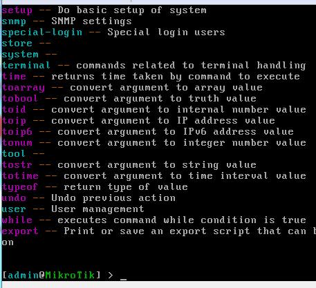 Setting Install Router Mikrotik Itu Mudah minim menggunakan console